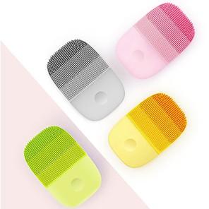 Χαμηλού Κόστους Skin Care-xiaomi inface επίσημο πινέλο καθαρισμού προσώπου εργαλεία φροντίδας δέρματος αδιάβροχο σιλικόνης ηλεκτρικό ηχητικό καθαριστικό