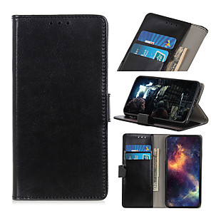 cheap Video Door Phone Systems-Case For Huawei P40 PRO P40 PROplus P40 lite NOVA 6 SE nova 7i Y7P P40 LITE E 9C 9A HONOR 30S HONOR 30 Card Holder Flip Magnetic Full Body Cases  PU Leather TPU Vintage solid color stand