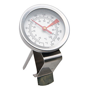 cheap Kitchen Utensils & Gadgets-Kitchen Thermometer Stainless Steel for Frothing Milk Espresso Coffee and Tea