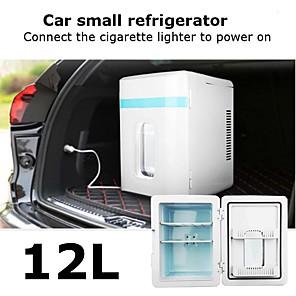 povoljno Kuhinjski aparati-12 l mini hladnjak za automobil ili kuću s dc12v / ac220v napajanjem za grijanje -25 - 65 stupnjeva (besplatna ponuda 1 eu)