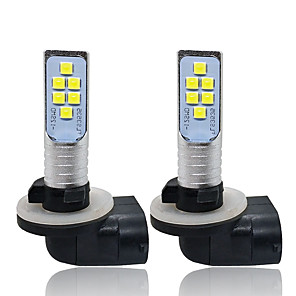 cheap Indoor Wall Lights-OTOLAMPARA 2pcs 880 / 881 Car Light Bulbs 12 W SMD 3535 1400 lm 12 LED Fog Lights For universal All Models 2018 / 2017 / 2019