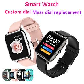 cheap Smartwatches-WP8 Men Women Smartwatch for Android Samsung/Huawei /Xiaomi/Sony Phone iOS Apple Phone BT Waterproof Custom Dial/Mass Dial Selection/Full Touch Screen Smart watch Smart Wearable Bracelet