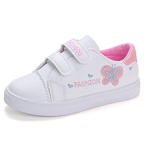 cheap Kids' LED Shoes-Girls' Sneakers Comfort / Snow Boots PU Little Kids(4-7ys) / Big Kids(7years +) Walking Shoes Purple / Pink Fall / Winter