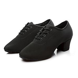 cheap Jazz Shoes-Women's Dance Shoes Jazz Shoes Heel Thick Heel Black