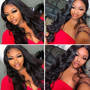 cheap Synthetic Trendy Wigs-Synthetic Wig Curly Weave Side Part Wig Long Black Synthetic Hair 24 inch Women's Party New Arrival Fashion Black