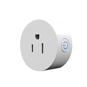 cheap Smart Plug-Smart Plug OM-SI01 for Living Room / Study / Bedroom Timing Function / Voice Control / WIFI Control WIFI 110-250 V