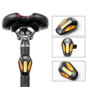 cheap Bike Lights & Reflectors-LED Bike Light LED Light Bike Glow Lights Safety Light Bicycle Cycling Waterproof USB Charging Output LED New Design no battery 6.5 lm Color-changing Camping / Hiking / Caving Everyday Use Cycling