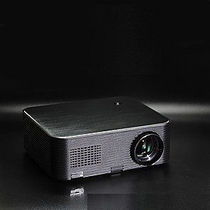 cheap Projectors-LITBest X1602 LED Projector 2000 lm 1080P HD Video Projector Remote Electronic Keystone Correction Support 4K Movie HDMI/USB for iPhone Fire Stick PC Xbox Home Theater Business Prese