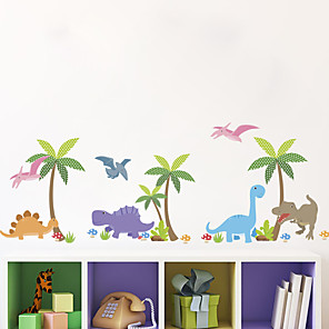 cheap Wall Stickers-Cute Wall Stickers Decorative Wall Stickers, PVC Home Decoration Wall Decal Wall Decoration for Kids Room / Removable