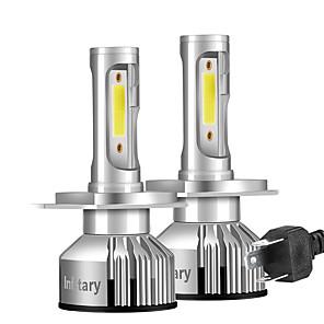 cheap Motorcycle Lighting-Infitary Mini Car Led Headlights 10000LM 6500K H1 H3 H7 H11 9005 9006 Ice Diode Lamp Auto Fog Light Bulb