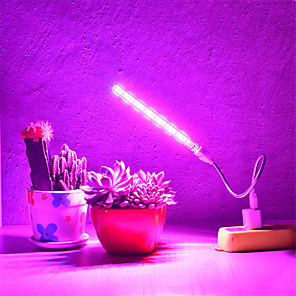 cheap LED Cabinet Lights-1pcs USB LED Grow Light Full Spectrum 10W DC 5V Fitolampy For Greenhouse Vegetable Seedling Plant Lighting Growing Phyto Lamp