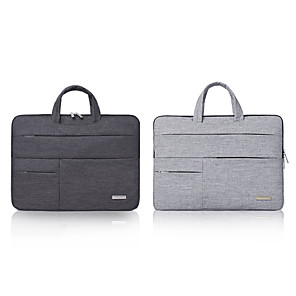 cheap Top Sellers-11.6 Inch Laptop / 12 Inch Laptop / 13.3 Inch Laptop Sleeve / Briefcase Handbags Polyester Plain / Fashion Unisex Waterpoof Shock Proof