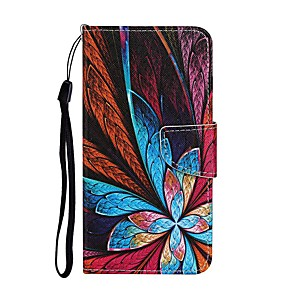 cheap Samsung Case-Case For Samsung Galaxy A01 A11 A21 A31 A41 A51 M10 A10 A20 A30 A40 A20E A50 A30S A70 Wallet Card Holder with Stand Full Body Cases Flower PU Leather