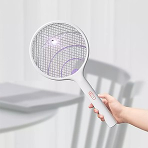 cheap Mosquito Repellent-Xiaomi Qualitell Electric Mosquito Swatter Handheld LED Mosquito Killer Insect Fly Wall-mounted Mosquito Trap Killing Dispeller Indoor Outdoor