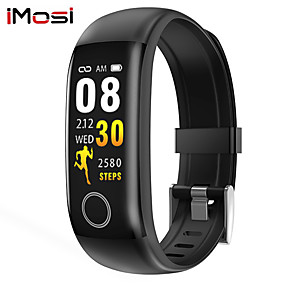cheap Smartwatches-Imosi T10 Smart Band Body Temperature Watch Fitness Tracker Bracelet IP67 Waterproof For Sport Pedometer Fitness Bracelet Blood Pressure
