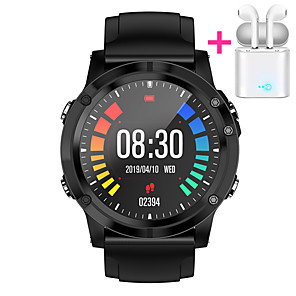 cheap Smartwatches-JSBP HT5 Smart Watch BT Fitness Tracker Support Notify Full Touch Screen/Heart Rate Monitor Sport Stainless Steel Bluetooth Smartwatch Compatible IOS/Android Phones