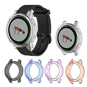 cheap Smartwatch Bands-TPU Case Cover For Garmin Vivoactive 4S / Vivoactive 4 Smart Watch Protector Frame For Garmin Vivoactive 4 / 4S Protective Shell