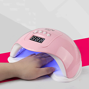cheap novelty kitchen tools-Professional Nail Dryer 48W Professional Nail Dryer Nail Art Tools Accessories 4 Timer Setting Smart Sensor with 24pcs LEDs USB for Fast Drying Fingernails and Toenail Fast Shipping