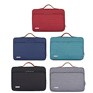 cheap Sleeves,Cases & Covers-11.6 Inch Laptop / 12 Inch Laptop / 13.3 Inch Laptop Sleeve / Briefcase Handbags Polyester Solid Colored / Fashion Unisex Waterpoof Shock Proof