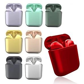cheap Bathroom Gadgets-LITBest i12 TWS Metal Macarons Wireless Earbuds Volume Control with Charging Box Voice Control Wireless Bluetooth 5.0 Hey Siri Pop Up Window