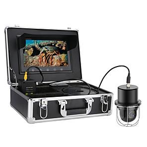 cheap CCTV Cameras-9 Inch 20M Underwater Fishing Video Camera Fish Finder IP68 Waterproof 20 LEDs 360 Degree Rotating Dome  Rotating Panoramic viewing Camera