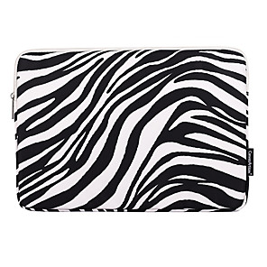 cheap Sleeves,Cases & Covers-11.6 Inch Laptop / 12 Inch Laptop / 13.3 Inch Laptop Sleeve Polyester Animal / Zebra Unisex Waterpoof Shock Proof