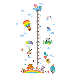 cheap Wall Stickers-Kid's Height Measuring Ruler Wall Stickers Decorative Wall Stickers, PVC Home Decoration Wall Decal Wall Decoration / Removable