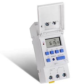 cheap Smart Switch-220VMicrocomputer Electronic Programmable Digital TIMER SWITCH Time Relay Control - 220V