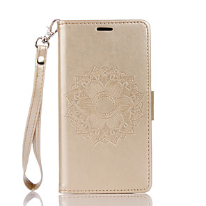 cheap Other Phone Case-Case for Wiko Wiko Lenny 3 4  Card Holder Magnetic Full Body Cases Flower PU Leather