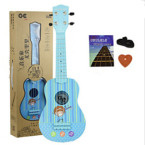 cheap Microphones & Accessories-Ukulele Wooden Maple Music 21inch for Birthday Gifts and Party Favors