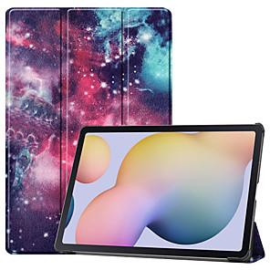 cheap Other Phone Case-Case For Lenovo Lenovo Tab M8 HD TB-8505F X Tab M8 FHD TB-8705F  N Lenovo Tab M7 TB-7305F Flip Pattern Full Body Cases sky Eiffel Tower TPU PC