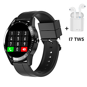 cheap Smartwatches-AW1 Full Screen Touch Bluetooth Phone Call Play Music Smart Watch Blood Pressure oxygen Heart Rate Monitor Smartwatch