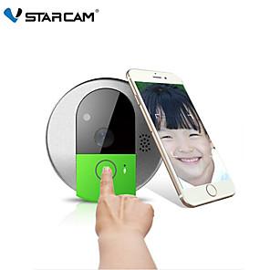 cheap Video Door Phone Systems-VStarcam C95 HD 720P Wireless WiFi Security IP Door Camera Night Vision Two Way Audio Wide Angle Video Doorcam Cam