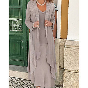 cheap Wedding Wraps-Long Sleeve Shrugs Chiffon Wedding / Party / Evening Women's Wrap With Solid