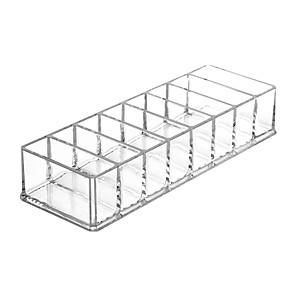 cheap Storage & Organization-Transparent Acrylic Storage Box Cosmetic Organizer Lipstick Powder Blush Storage Rack Cosmetic Storage Box Display Stand Tool