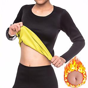 cheap Fitness Gear & Accessories-Sweat Shapewear Sports Neoprene Home Workout Fitness Gym Workout No Zipper Weight Loss Tummy Fat Burner Hot Sweat For Men Women