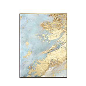 cheap Abstract Paintings-100% Hand painted By Professional Artist 2020 Handmade Abstract Landscape Oil Painting On Canvas Living Room Home Decor Gold Art