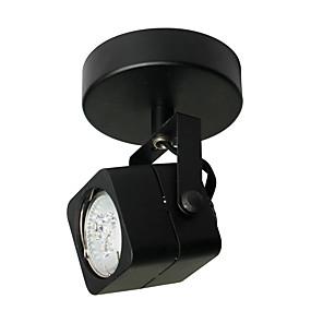 cheap Spot Lights-LED Spot Light GU10 3W LED Bulb Included Metal Black Painting for Living Bedroom Asile LED Lighting