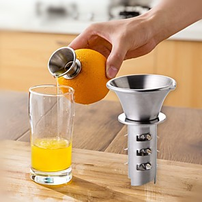 cheap Egg Tools-Juicer Squeezer Stainless Steel Manual for Lemon and Orange