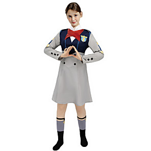 cheap Anime Costumes-Inspired by Darling in the Franxx Ichigo Anime Cosplay Costumes Japanese Cosplay Suits Costume For Women's