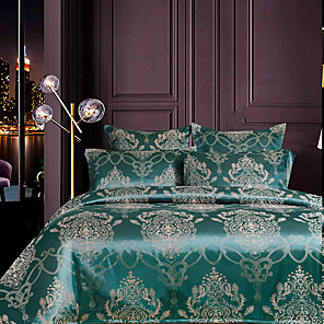 cheap Wallpaper-Bedding Sets Duvet Cover Sets King/ Queen/ Double/ Full Size with Zipper Closure Ultra Soft Luxury Silky Hypoallergenic Comforter Cover Sets 3 Pieces Include 1 Duvet Cover& 2 Pillow Shams (Size Single