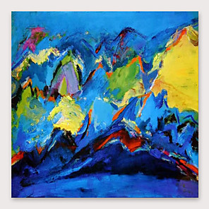 cheap Abstract Paintings-IARTS®Hand Painted abstract Oil Painting   with Stretched Frame For Home Decoration