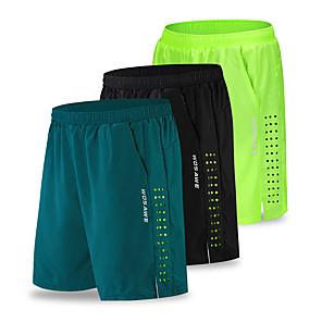 povoljno ljetni popust-WOSAWE Muškarci Biciklističke kratke hlače Surferske hlače Bicikl Kratke hlače Kratke hlače za MTB Sportski Crn / Zelen / Tamno mornarice Odjeća Relaxed Fit Odjeća za vožnju biciklom / Mikroelastično