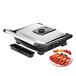 cheap novelty kitchen tools-BBQ Grill Household Kitchen Appliances Barbecue Machine Grill Electric Hotplate Smokeless Grilled Meat Pan Contact Grill