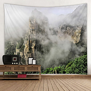 cheap Wall Stickers-Mountain stone cloud vein scenery Digital Printed Tapestry Decor Wall Art Tablecloths Bedspread Picnic Blanket Beach Throw Tapestries Colorful Bedroom Hall Dorm Living Room Hanging