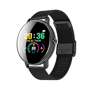 cheap Smartwatches-JSBP HP8 Smart Watch BT Fitness Tracker Support Notify/Heart Rate Monitor Sport Stainless Steel Bluetooth Smartwatch Compatible IOS/Android Phones