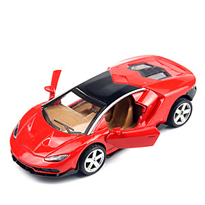 cheap Toy Cars-1:36 Pull Back Vehicle Car Race Car Metal Alloy Mini Car Vehicles Toys for Party Favor or Kids Birthday Gift / 14 Years & Up
