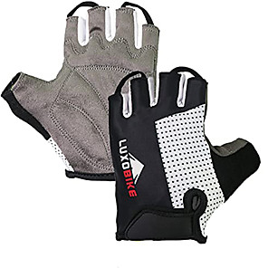 cheap Thermometers-Half-finger All Motorcycle Gloves Microfiber Breathable