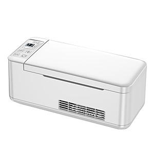 economico Lettori DVD per auto-12 v / 24 v mini car frigo portatile termoelettrico di raffreddamento box insulina dispositivo di raffreddamento custodia da viaggio fiala di sicurezza insulina protettore frigorifero 0.39l