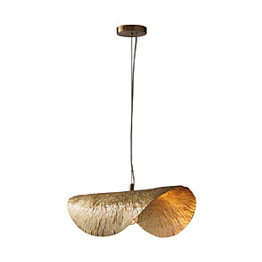 cheap Abstract Paintings-Artistic Nordic Style Pendant Light Copper Lighting for Living Dinning Bedroom Hotel Office Room E12/E14 Bulb not included